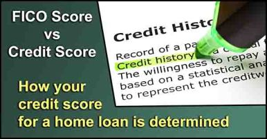 Definition of Credit history highlighted in green with text marker.