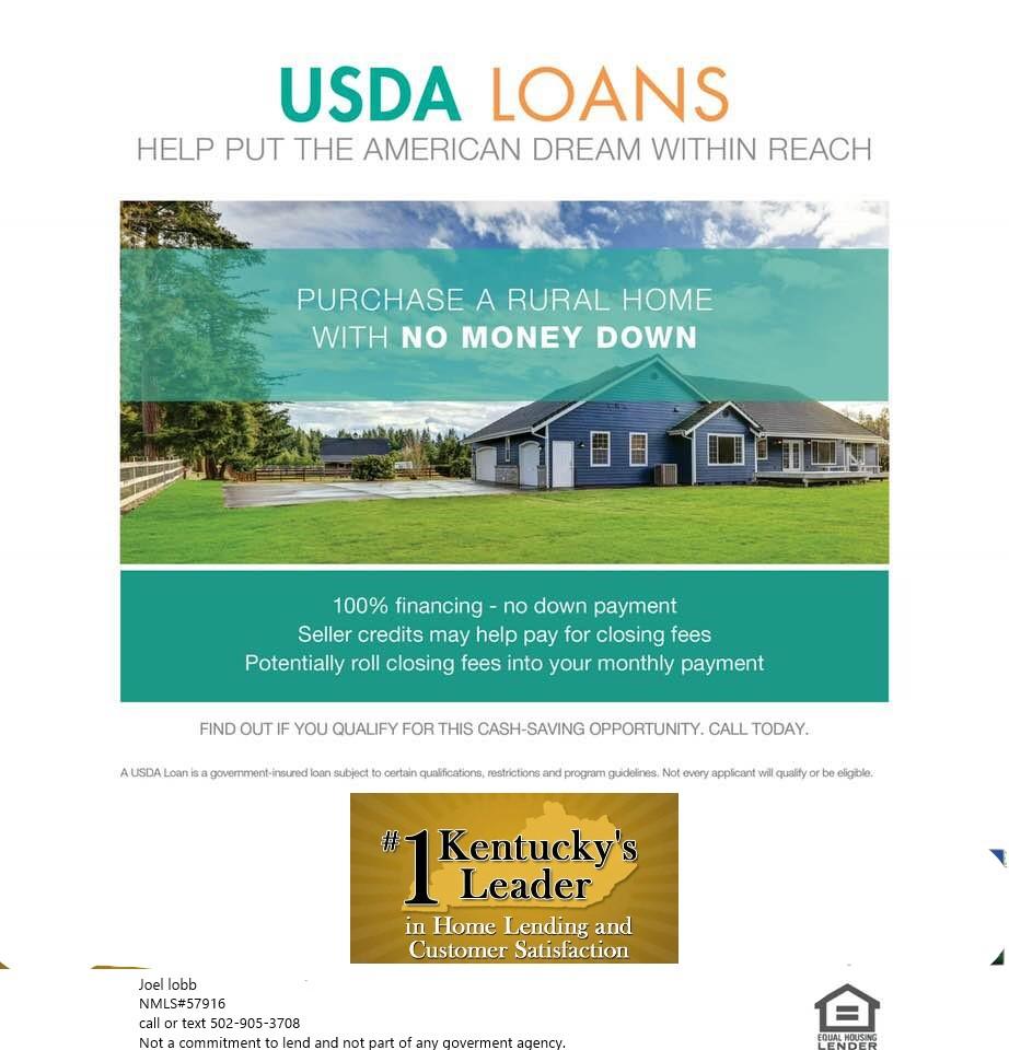 Kentucky USDA Loans   Rural Housing Loans Kentucky