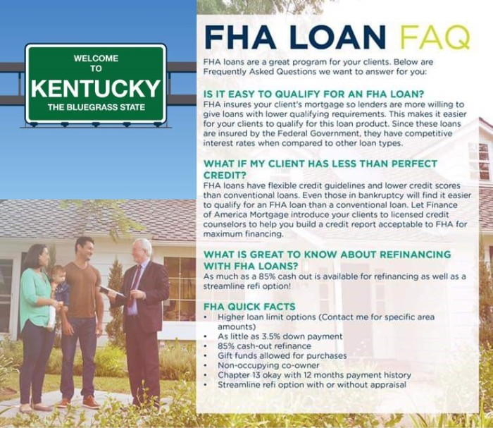 Kentucky FHA Guidelines for Inspections and Warranty's