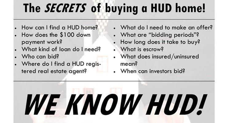 Buying A HUD Home in Kentucky $100 Down FHA loan