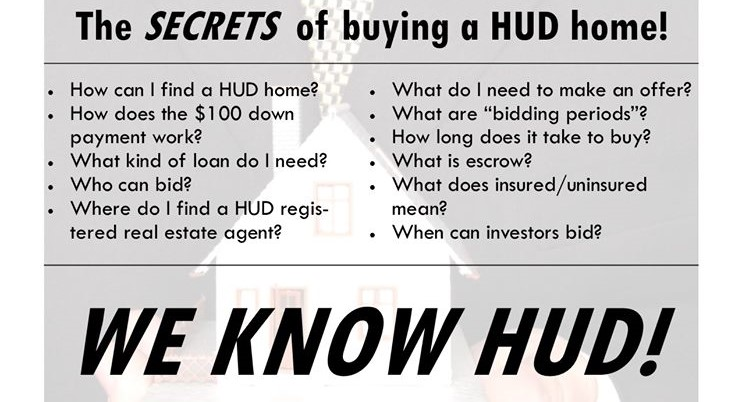 Buying A HUD Home in Kentucky $100 Down FHA loan